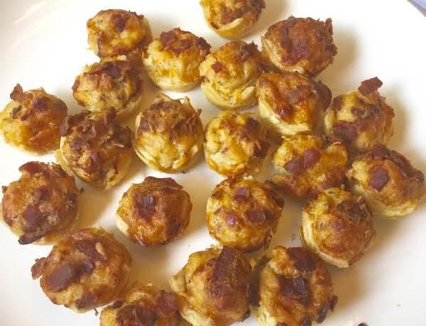 Nor's Bacon Apple Onion  Cheddar Potato Puffs