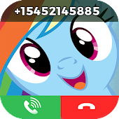 My little sweet pony fake call