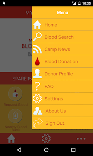 My Blood Bank screenshot