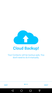 Auto Contact Backup & Transfer App 1