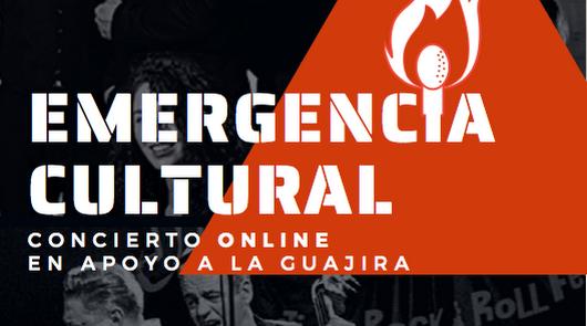 Un concierto online para apoyar a La Guajira