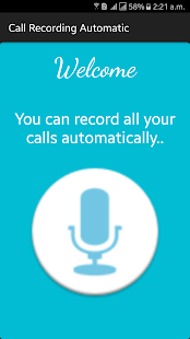 Call Recording Automatic - náhled