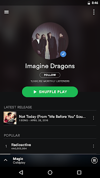 Spotify Music APK screenshot thumbnail 2