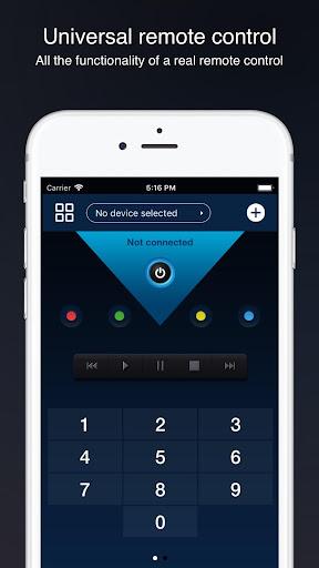 Universal remote control for smart TVs screenshot 2