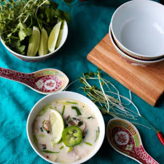 Tom Kha Gai (Thai Coconut Chicken Soup).