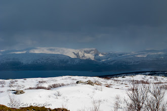 Photo: View towards the South, from Keiservarden, Bodø