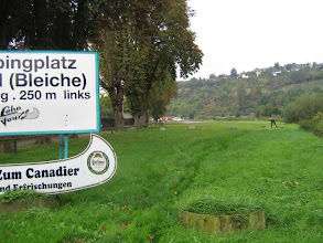 Photo: Campingplatz in Runkel: leer, leer., leer