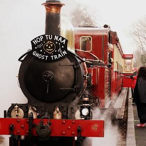 Hop u naa ghost train Isle of Man by Jazmyne Kelly - Transportation Other