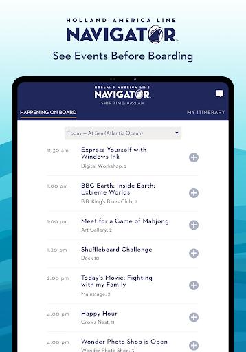 Holland America Line Navigator 1.7.5 screenshots 10