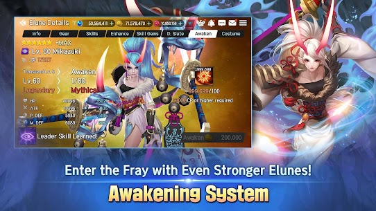Elune MOD APK (Free Shopping) for Android 3