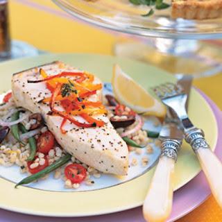 Broiled Swordfish à la Niçoise