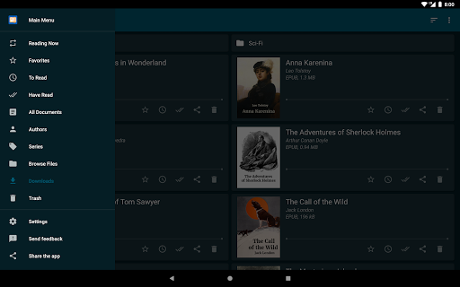 ReadEra u2013 free ebook reader  screenshots 9