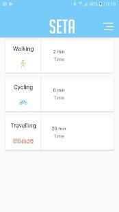Seta Tracking - náhled