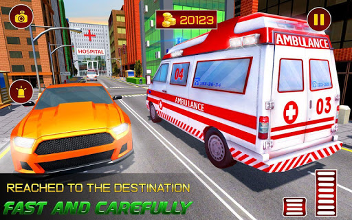 City Ambulance Rescue Simulator Games 🚑 🚁 ss3