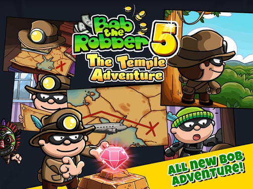 Bob The Robber 5: Temple Adventure by Kizi games u0635u0648u0631 2