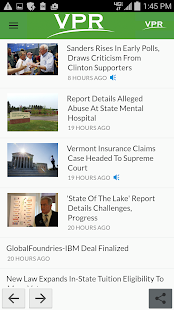 VPR Android App- screenshot thumbnail