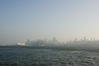 Photo: A not so good view of the city from the prison.
