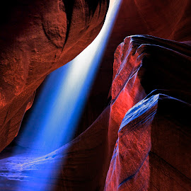 Antelope Canyon by Stanley P. - Landscapes Caves & Formations (  )