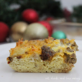 Christmas Morning Breakfast Casserole.
