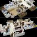アパートデザイン3D