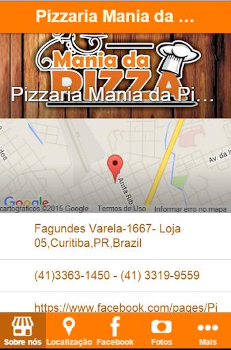 Pizzaria Mania da Pizza
