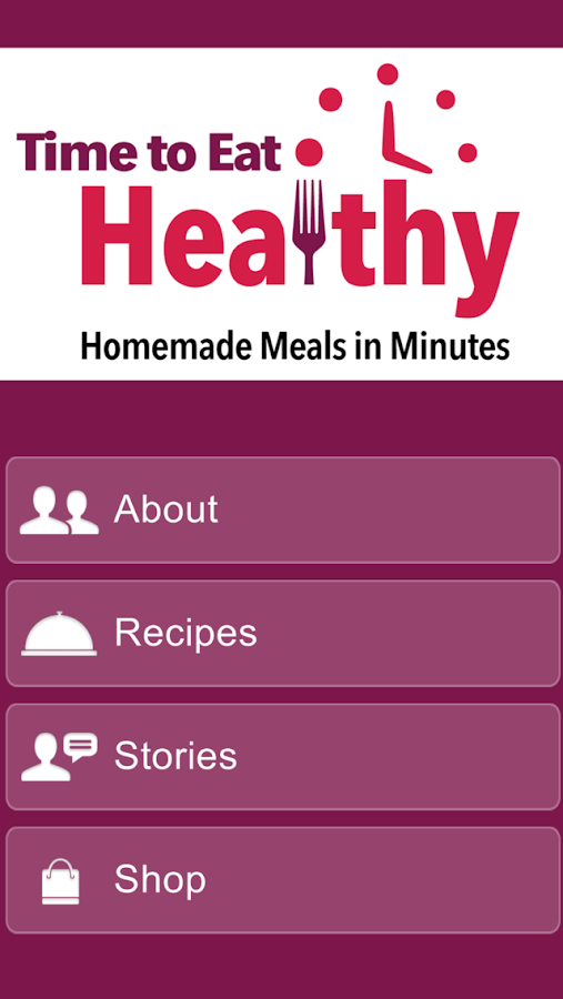 Eat Healthy: Homemade Meals- screenshot
