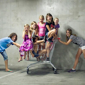 going shopping ;) by Natasa Bencic - Babies & Children Children Candids