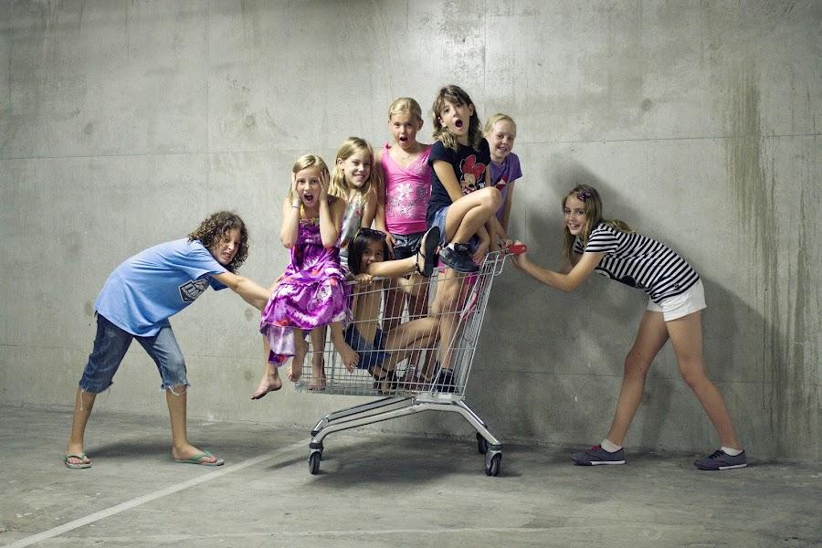 going shopping ;) by Natasa Bencic - Babies & Children Children Candids