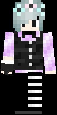 i made a pastel goth boy. i know it looks kinda like a girl but its a boy.