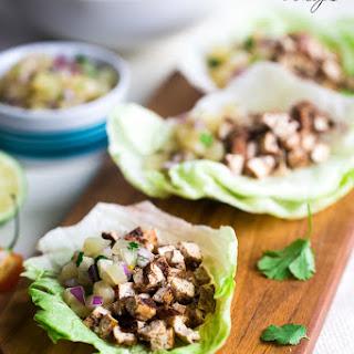 Vegetarian Tofu Wraps Recipes.