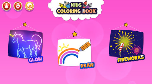 Kitchen Coloring Book With Animation - Glitter 1.0 screenshots 1