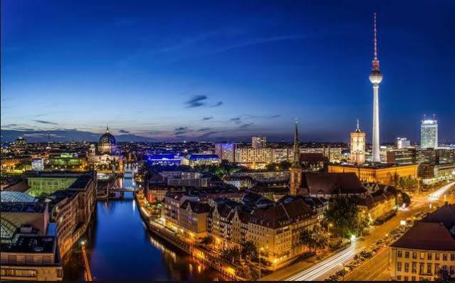 Thủ đô berlin Đức