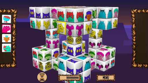 😾 Angry Cats Mahjong 😾 Screenshot