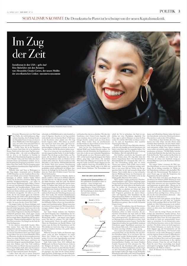 DIE ZEIT – Screenshot