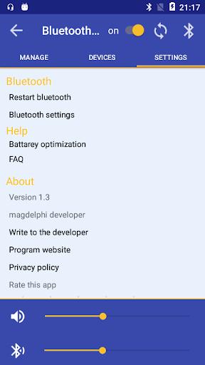 Bluetooth Audio Widget Battery FREE  screenshots 4