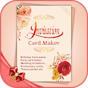Digital Invitation Card Maker icon
