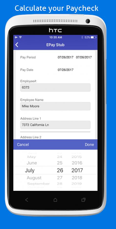 paycheck calculator 2018