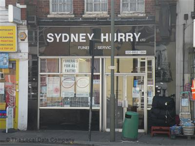 Sydney Hurry on Burnt Oak Broadway - Funeral Directors and