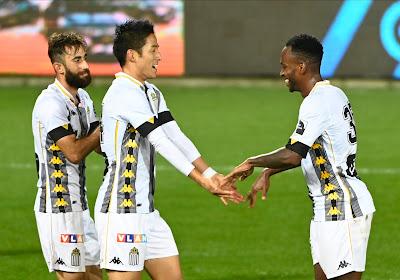 Charleroi nieuwe leider in Jupiler Pro League na droge overwinning tegen Cercle Brugge