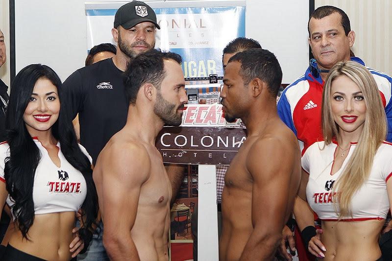 Ramon Alvarez v Richard Gutierrez: Weights/photos from Mexico