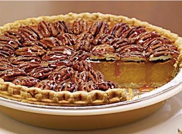 Flaming Pecan Pumpkin Pie Recipe