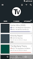Screenshot of TV Series - Your shows manager