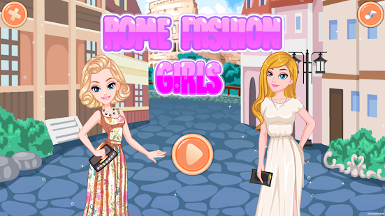 ROME Fashion Girls - Dress Up Game - náhled