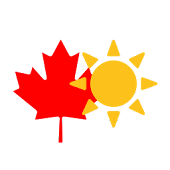 Canadian Weather Map
