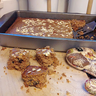 Oatmeal Raisin Cake from The Old Farmer's Almanac Everyday Baking Cookbook