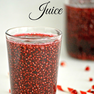 Pomegranate Chia Seed Juice