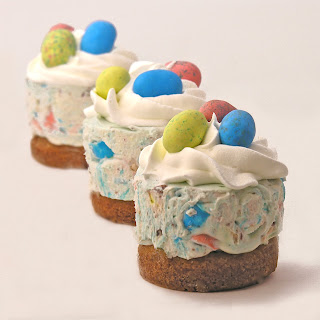 Easter Mini-Cheesecakes