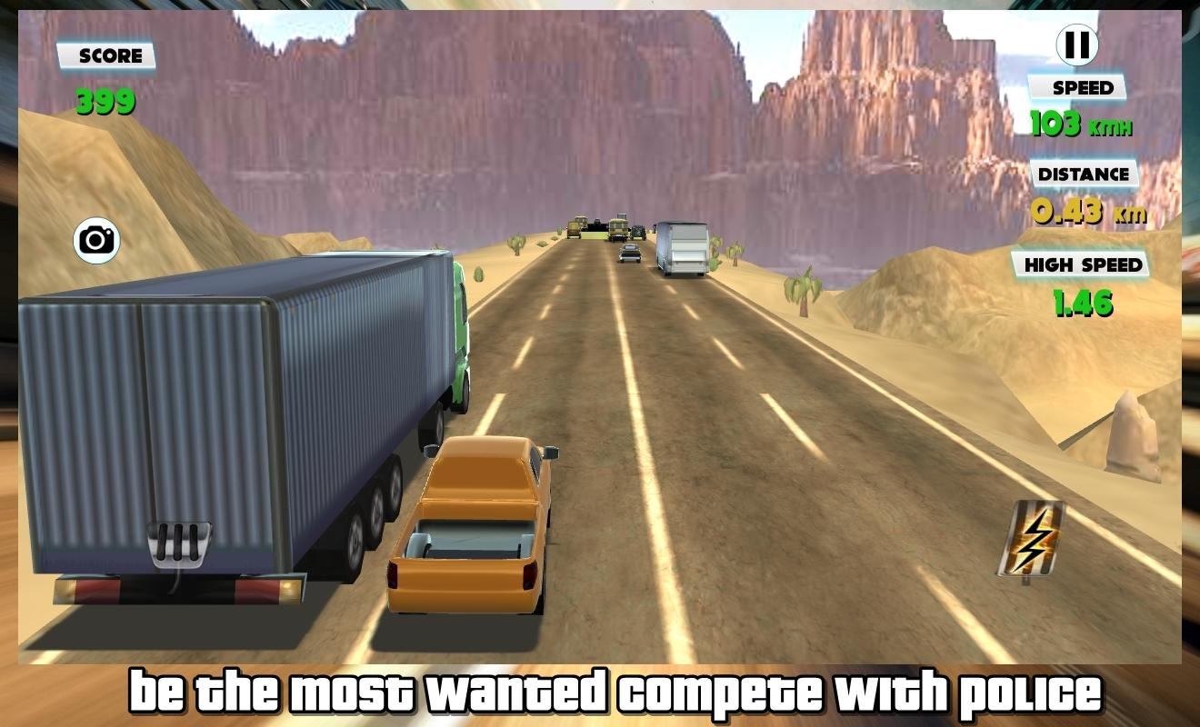 Traffic Highway City Racer- screenshot