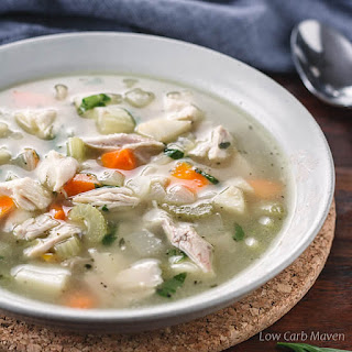 Low Carb Chicken Soup for Keto Diets Recipe
