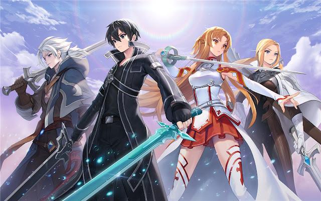 Sword Art Online Themes & New Tab